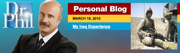 "Dr. Raj :: and a soldiers ""My Iraq Experience"""