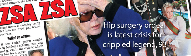 Dr. Raj comments on Zsa Zsa's hip replacement